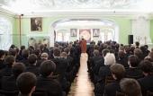 Митрополит Волоколамский Иларион выступил с лекцией в Московской духовной академии
