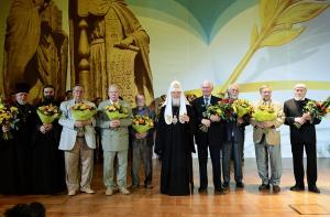 Лауреатами Патриаршей литературной премии 2014 года стали протоиерей Николай Агафонов, Валерий Ганичев и Валентин Курбатов