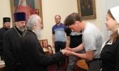 Предстоятель Сербской Православной Церкви выразил благодарность Святейшему Патриарху Кириллу и русскому народу за помощь и молитвенную поддержку