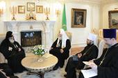 Святейший Патриарх Кирилл встретился с Предстоятелем Грузинской Православной Церкви