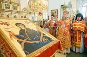 Состоялось принесение ковчега с частицей Пояса Пресвятой Богородицы в Павлодарскую и Усть-Каменогорскую епархии Митрополичьего округа в Казахстане