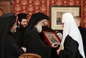 Состоялась встреча Святейшего Патриарха Кирилла с делегацией Константинопольского Патриархата