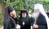 Делегация Болгарской Православной Церкви посетила Московский Сретенский монастырь