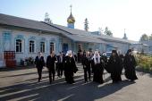 Святейший Патриарх Кирилл посетил Успенский мужской монастырь г. Красноярска