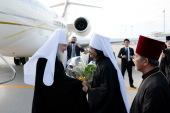 Начался Первосвятительский визит Святейшего Патриарха Кирилла в Японию