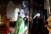 Святейший Патриарх Кирилл посетил Воскресенский храм в Хакодате