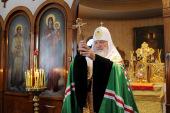 Святейший Патриарх Кирилл посетил кафедральный собор Сендайской епархии
