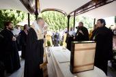 Предстоятель Русской Церкви совершил в Токио молебен у мощей святого Николая Японского и литию по православным архиереям, служившим в Японии