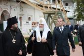 Святейший Патриарх Кирилл призвал не допустить высотной застройки в охранной зоне Ново-Иерусалимского монастыря
