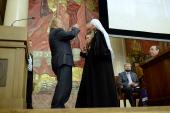 Святейшему Патриарху Кириллу присуждена степень почетного доктора МГУ