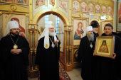 Святейший Патриарх Кирилл посетил подворье Русской Православной Церкви в Токио