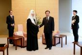 Святейший Патриарх Кирилл встретился с Премьер-министром Японии Ёсихико Нодой