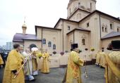 Предстоятель Русской Церкви освятил первый храм, возведенный в рамках «Программы-200» в Москве