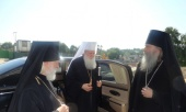Предстоятель Болгарской Церкви посетил Троице-Сергиеву лавру