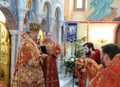 В Риме отметили пятилетие храма святой Екатерины
