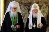 Состоялась братская беседа Предстоятелей Русской и Болгарской Православных Церквей