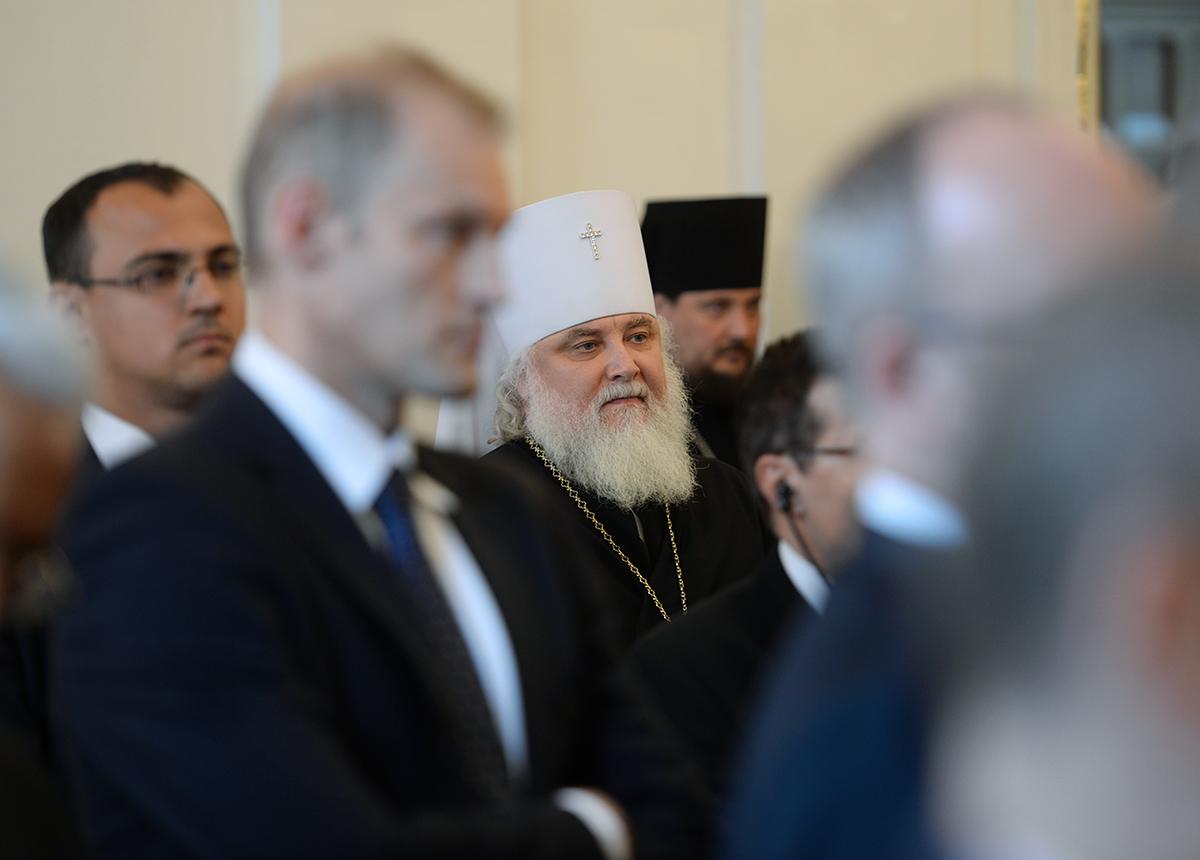 Прием в Министерстве иностранных дел России по случаю православной Пасхи