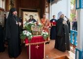 Состоялось принесение ковчега с частицей Пояса Пресвятой Богородицы в Кокшетаускую и Карагандинскую епархии Митрополичьего округа в Казахстане