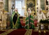 Слово Святейшего Патриарха Кирилла в праздник Вознесения Господня в Казанском соборе Санкт-Петербурга