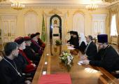 Святейший Патриарх Кирилл встретился с Предстоятелем Ассирийской Церкви Востока
