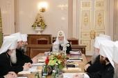 ЖУРНАЛЫ заседания Священного Синода от 30 мая 2014 года