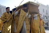 В Белгороде состоялось перенесение мощей священномученика Никодима, епископа Белгородского