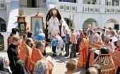 Возобновлен крестный ход с чудотворной иконой святителя Николая из села Спирово в Иосифо-Волоцкий ставропигиальный монастырь