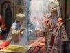 Совместное служение Предстоятелей Иерусалимской и Русской Православных Церквей в день памяти свв. равноапп. Мефодия и Кирилла в Успенском соборе Кремля