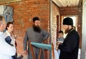 На подворье Новоспасского ставропигиального монастыря будет создан центр помощи жертвам домашнего насилия