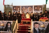 Представители Русской Православной Церкви приняли участие в молитве о мире на месте Крещения Господня