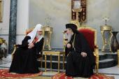 Состоялась встреча Предстоятелей Русской и Иерусалимской Православных Церквей