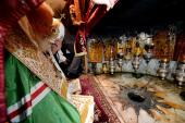 Предстоятель Русской Православной Церкви посетил базилику Рождества Христова в Вифлееме