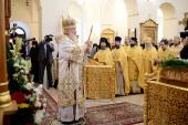 Предстоятель Русской Церкви освятил собор Горненского монастыря в Иерусалиме