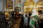 Предстоятель Русской Церкви посетил монастырь святой Марии Магдалины в Иерусалиме