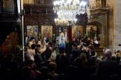 Святейший Патриарх Кирилл посетил храм Благовещения в Назарете