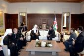 Святейший Патриарх Кирилл встретился с Королем Иордании Абдаллой II Бен аль-Хусейном