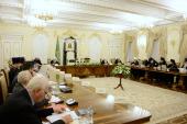 Святейший Патриарх Кирилл возглавил пятое заседание президиума Межсоборного присутствия