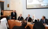 Святейший Патриарх Кирилл принял участие в заседании Совета Императорского православного палестинского общества