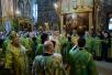 Патриаршее служение в канун праздника Троицы в Троице-Сергиевой лавре
