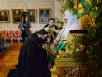 Наречение архимандрита Владимира (Михейкина) во епископа Петропавловского, архимандрита Никанора (Анфилатова) во епископа Енисейского, архимандрита Агафангела (Дайнеко) во епископа Норильского и архимандрита Симона (Морозова) во епископа Шахтинского