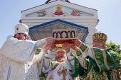 Ковчег с частицей Пояса Пресвятой Богородицы был принесен в Байконур