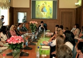 Председатель Издательского Совета выступил на конференции «Преподобный Сергий. Лик русской духовности»
