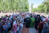 Ковчег с Поясом Богородицы был принесен в казахстанские города Приозерск и Жаркент, а также поселок Хоргос