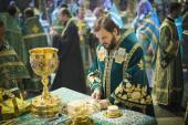 Архиепископ Петергофский Амвросий возглавил торжества по случаю престольного праздника Исаакиевского собора Санкт-Петербурга