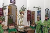 О мире и прекращении противостояния молились за Литургией в украинском городе Славянске