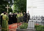Святейший Патриарх Кирилл посетил храм в честь иконы Божией Матери «Всех скорбящих Радость» в Рязани
