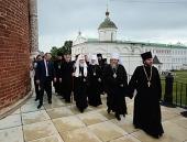 Предстоятель Русской Церкви осмотрел соборы Рязанского кремля