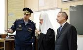 Святейший Патриарх Кирилл посетил Рязанское училище ВДВ