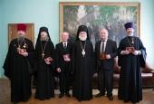Архиепископ Верейский Евгений вручил дипломы доктора богословия