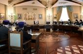 Святейший Патриарх Московский и всея Руси Кирилл возглавил очередное заседание Высшего Церковного Совета